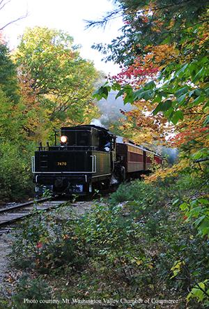 Conway Scenic Railroad in Notch