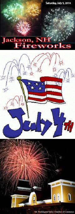 July 4 Fireworks poster