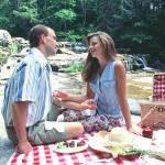 picnic by Jackson Falls