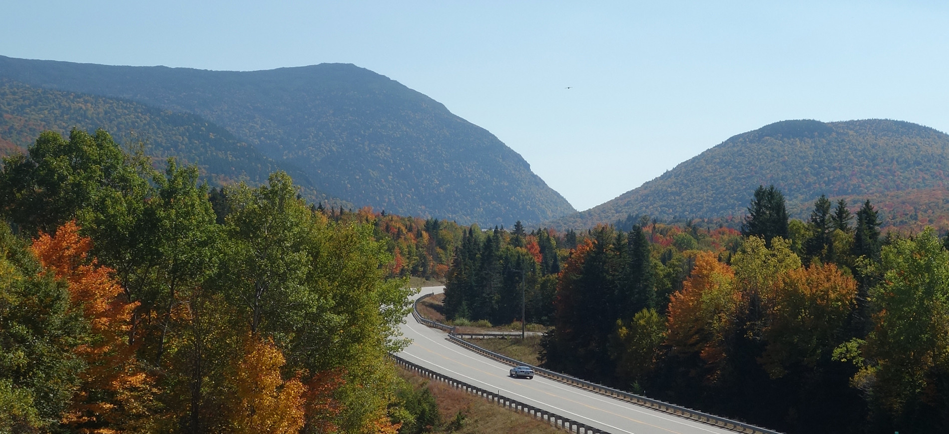 view toward Crawford Notch from west